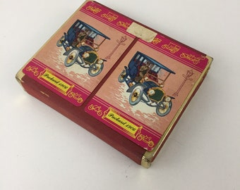 Vintage Canasta Playing Cards Packard 1906 Complete Set with Box and Instrustions Arrco
