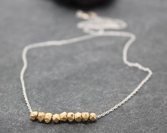 NINE NUGGETS necklace