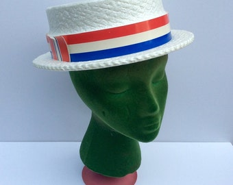 VTG Styrofoam Election Boat Hat // Presidential // 4th of July // Memorial Day // Labor Day