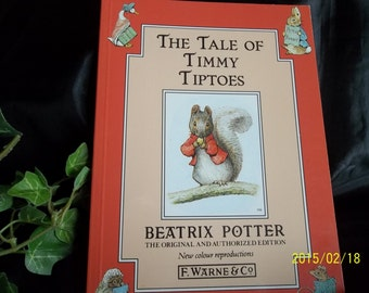 The Tale of Timmy Tiptoes by, Beatrix Potter, 1991