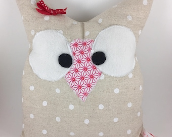 Stuffed OWL baby or room decoration