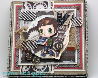 More books, please! boy gift box
