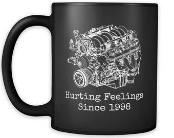 gift for Corvette Camaro Cadillac owner xmas LS motor GM LS3 Solstice hotrod american car guy present SS pontiac