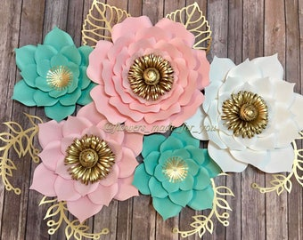 Set of 5 Flowers