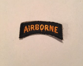 Vintage WWII US Army Patch Airborne