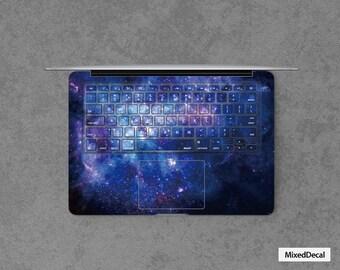 Bleu autocollants clavier universel pour Apple Pro/Air/Pro Retina 11 13 15 17