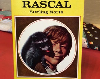 Rascal by Sterling North ~ Paperback Book 1969 ~ Avon Paperback Book ~ Young Readers ~ Disney Movie