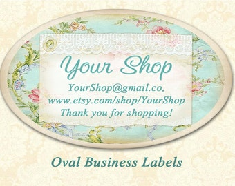 Oval labels Avery oval stickers Printable download on Digital collage sheet Business ovals stickers
