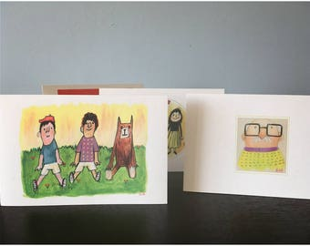 My Friends Card Set by Su-young Seo