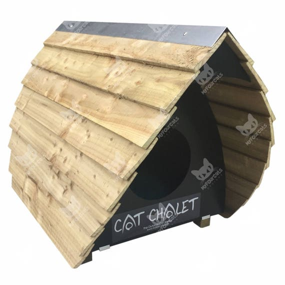 Cat Chalet Cat Shelter Outdoor Cat House Cat Bed Cat Furniture