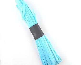 x50m cord 5mm (91 (A) turquoise paper raffia