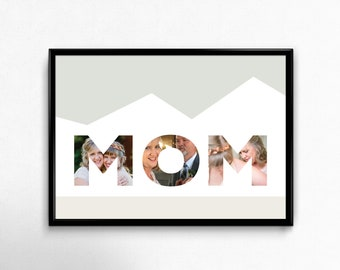 Downloadable MOM Personalized Print