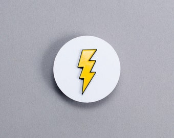 Enamel Pin - Lightning Bolt