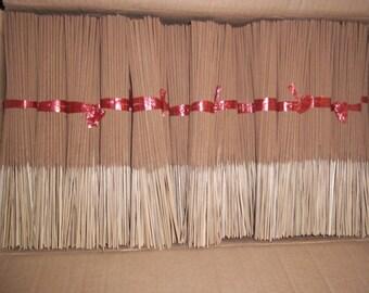 85 - 100 Unscented incense sticks.