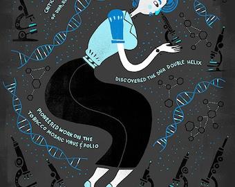 Women in Science: Rosalind Franklin
