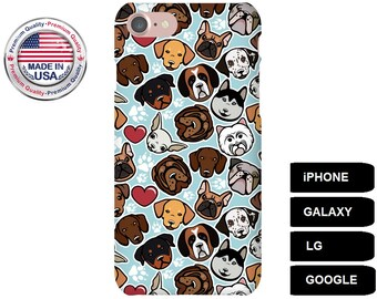 Dog Phone Case, Phone Case Dog, Dog iPhone Case, Dog Galaxy Case, Dog Google Pixel, Dog Breed, iPhone 5 Case, iPhone 6 Case, iPhone 7 Case