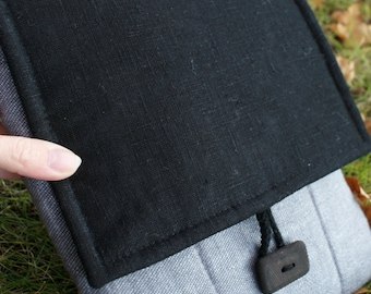 Apple iPad Sleeve Case Cover/ padded/ linen/pocket