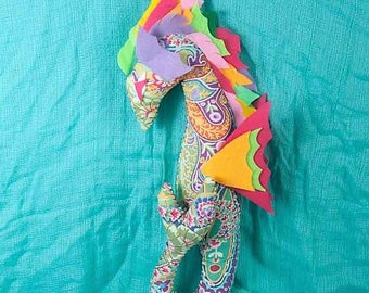 Persephone the Leafy Sea Dragon Soft Sculpture Plush Doll