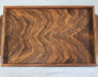 Serving Tray Handmade out of Walnut