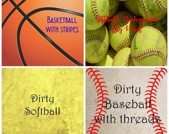 Pattern Vinyl, Sports 1, Printed Vinyl, Adhesive Outdoor 651 Vinyl, HTV, Heat Transfer Vinyl, Iron On Vinyl, Baseball Vinyl, Sports HTV