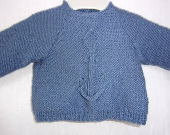 ANCHOR SWEATER 3 MONTHS