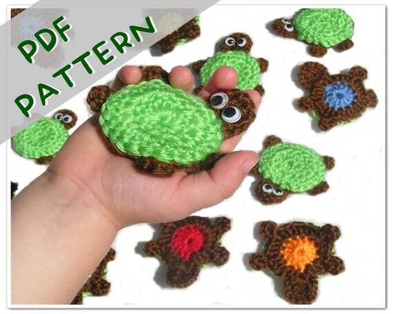 Muster Schildkröte Memory Spiel PDF Häkeln