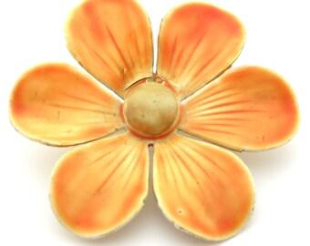 Vintage Sandor Brooch | Brooch Pin | Sandor Pin | Enamel Pin | Vintage Brooch | Vintage Pin | Flower Brooch | Flower Pin | Statement Brooch