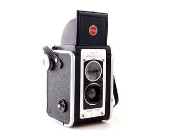 Vintage Kodak Duaflex II Camera (c.1940s) - Collectible, Display or Photo Prop