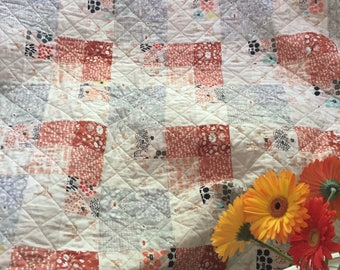 Seeing Double Throw Quilt