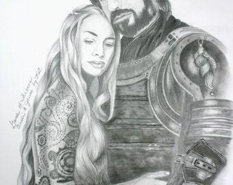 Game of Thrones Cersei & Jamie