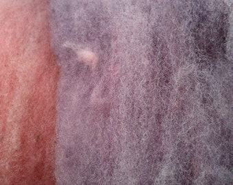 50g NORFOLK HORN wool dyed with logwood and cochineal