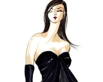 Val-Fashion Illustration-Print