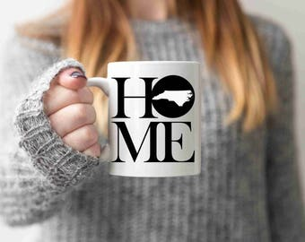 North carolina gift etsy north carolina mug state mug coffee mug home mug homesick gift personalized mug custom mug north negle Image collections