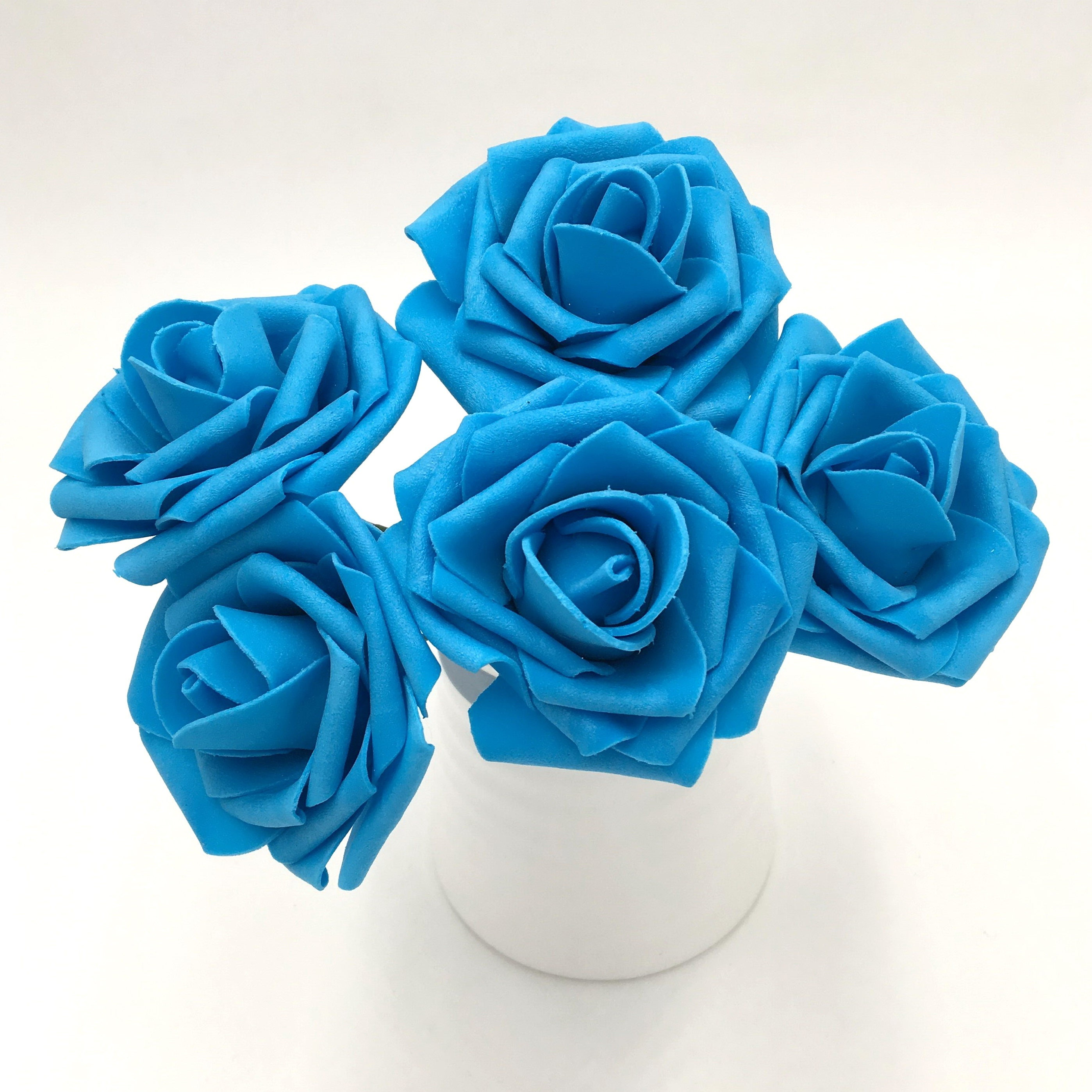Fantastic Bulk Flowers Wedding Composition Blue Wedding Color