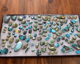 1,600 Carats of Bisbee Turquoise Stones