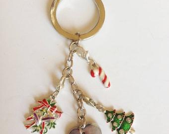 Christmas ornament keychain