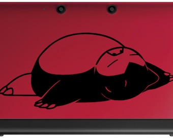 Snorlax Pokemon Decal for 3DS and 3DSXL