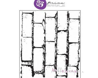 Mini stamp Prima Marketing 1 scrapbooking (ref.210) transparent background