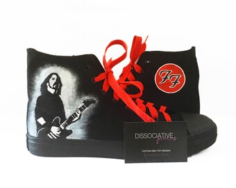 Foo Fighters Dave Grohl High Tops