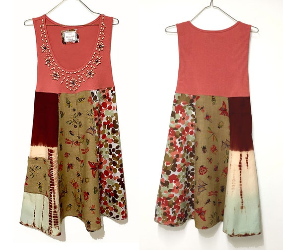 Hippy Summer Dress by The Upcycled Closet