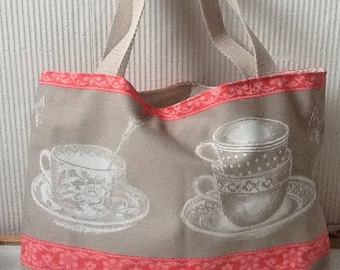 Cotton cups bag coffee