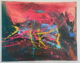 Original abstract art, abstract painting, wall art, abstract wall art, home decor, wall decor, abstract canvas art, abstract wall art