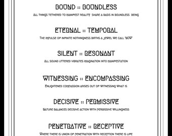 The Seven Tantric Correlates