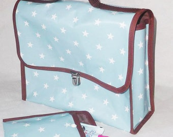 Maternal Binder and its Snack Bag for Kids sky star