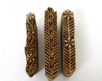 Wooden Print Blocks from India, (PB#2)