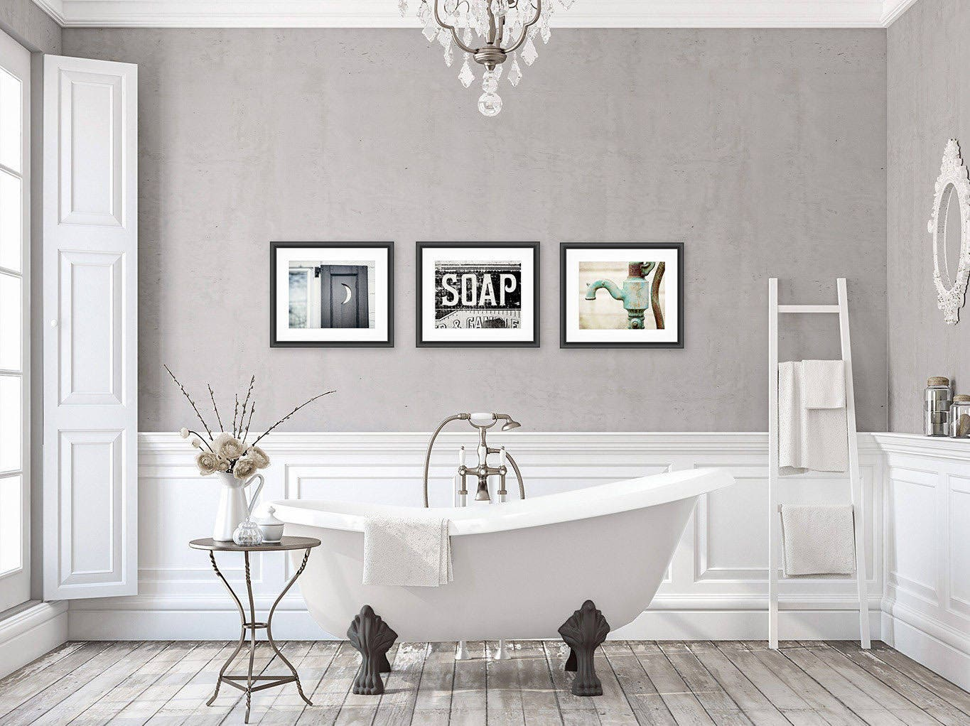 bathroom wall painting ideas rustic bathroom wall decor bathroom wall art set of 3 prints 4644