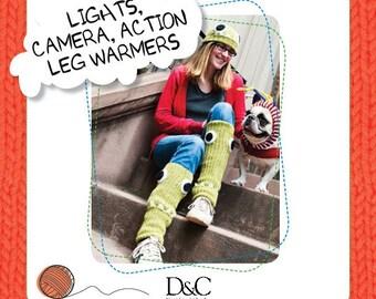 Lights Camera Action Leg Warmers Knitting Pattern Download 803224