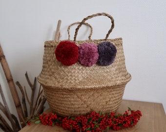 Tassels 3 storage basket