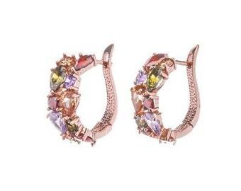Zircon Multicolor Earrings
