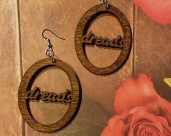 Hoop earrings - Dreads